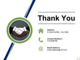 Thank You Ppt Background Template