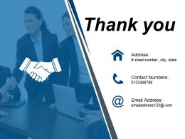 Thank You Ppt Design Template 2