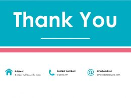 Thank You Ppt File Infographics