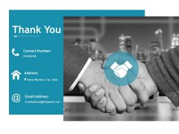 Thank You Ppt Icon Background Image