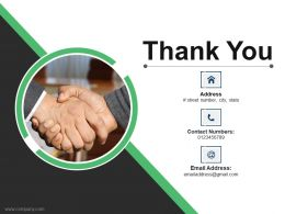 Thank You Ppt Infographic Template Examples