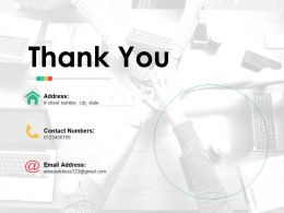 Thank You Ppt Infographic Template File Formats
