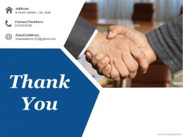 Thank You Ppt Infographic Template Format Ideas