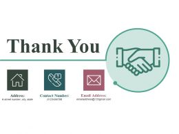 Thank You Ppt Infographic Template Graphics Example