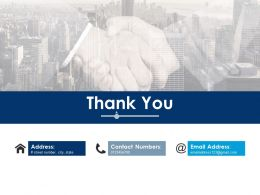 Thank You Ppt Infographic Template Graphics Template