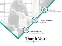 Thank You Ppt Infographic Template Master Slide