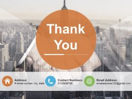 Thank You Ppt Infographic Template Outfit