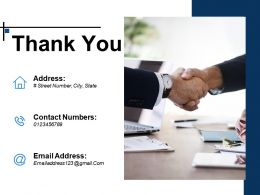 Thank You Ppt Infographic Template Sample