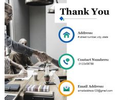Thank You Ppt Inspiration Infographic Template