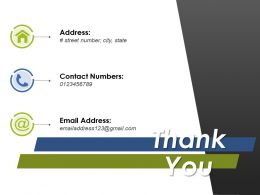 Thank You Ppt Layouts Background Image