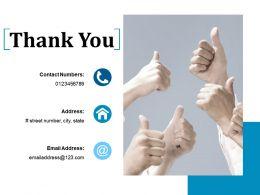 Thank You Ppt Model Slide Download