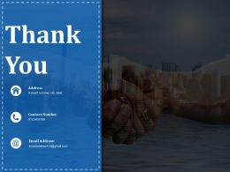 Thank You Ppt Pictures Infographic Template