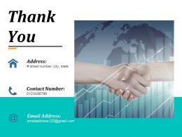 Thank You Ppt Portfolio Example Introduction