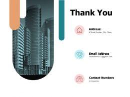 Thank You Ppt Powerpoint Presentation File Smartart