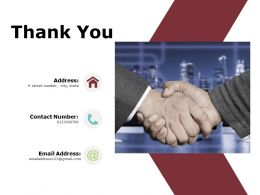 Thank You Ppt Powerpoint Presentation Gallery Vector