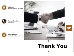 Thank You Ppt Powerpoint Presentation Infographics Deck