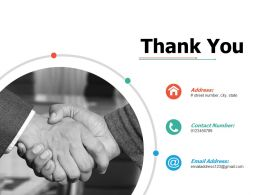 Thank You Ppt Professional Gallery