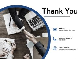 Thank You Ppt Professional Objects
