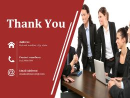 Thank You Ppt Sample Template 2