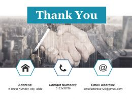 Thank You Ppt Summary Background Designs