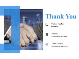 Thank You Presentation Background Images