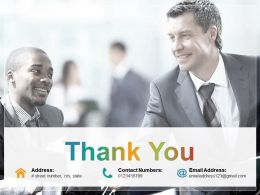 Thank You Presentation Layouts