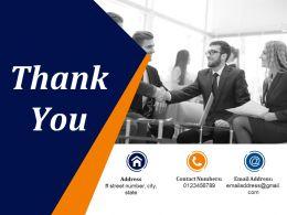 Thank You Presentation Portfolio
