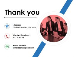 Thank You Presentation Powerpoint Example Template 1