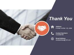Thank You Presentation Slides Template 1