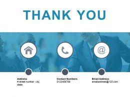 Thank You Presentation Visual Aids