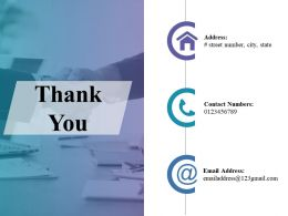 Thank You Problem Analysis Model Ppt Show Example File