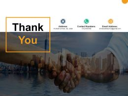 Thank You Product Launch Roadmap Ppt Powerpoint Presentation Outline Information