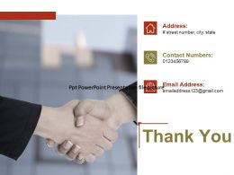 Thank You Property Management Ppt Powerpoint Presentation File Picture