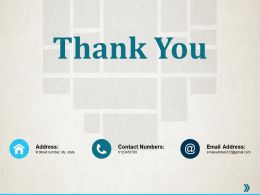 Thank You Resource Utilization Ppt Professional Infographic Template