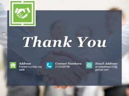 Thank You Sample Of Ppt Presentation