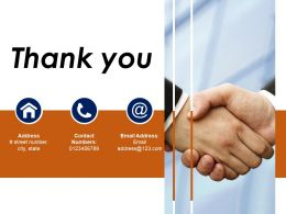 Thank You Sample Presentation Ppt Template 1