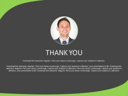 Thank You Slide For Business Manager Powerpoint Slides