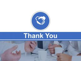 Thank You Slide For Business Team Powerpoint Slides