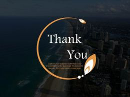 Thank You Slide For Travel And Tour Powerpoint Slides