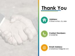 Thank You Suggestion Analysis Ppt Infographics Example Introduction