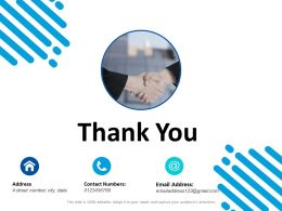 Thank You Trade Branding Ppt Powerpoint Presentation Layouts Example