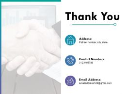 Thank You Trade Fair Ppt Powerpoint Presentation File Infographics