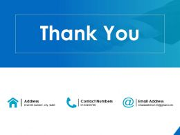 Thank You Value Based Pricing Strategy Ppt Powerpoint Presentation Show Infographic Template