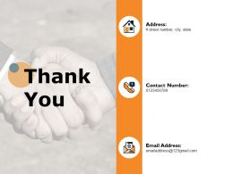 Thank You Vendor Audit Ppt Powerpoint Presentation Icon Example Introduction