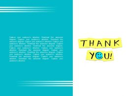 Thank You With Smiley Back Ground Powerpoint Slides
