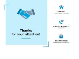 Thanks For Your Attention Ppt Powerpoint Presentation Pictures Graphics