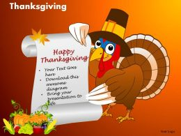 Thanksgiving Powerpoint Slides