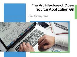 The Architecture Of Open Source Application Git Powerpoint Presentation Slides