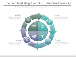 The B2b Marketing Event Ppt Samples Download