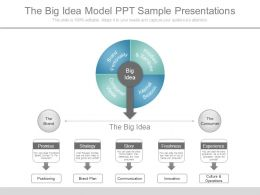 The Big Idea Model Ppt Sample Presentations